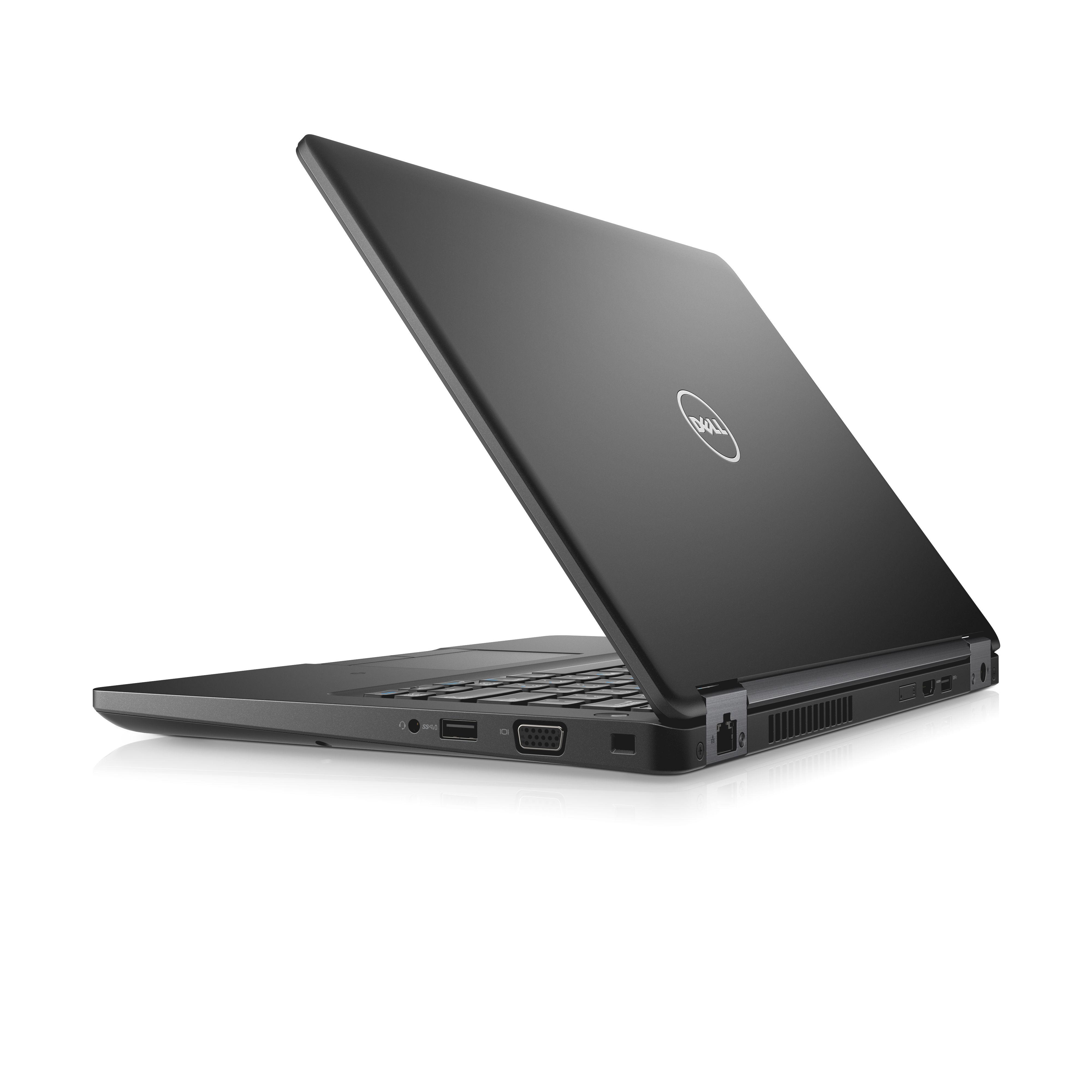 """Dell Latitude 5480 14"""" HD i5-7200U/4G/500GB/SCR/MCR/HDMI/VGA/USB-C/W10P/3RNBD/Černý"""