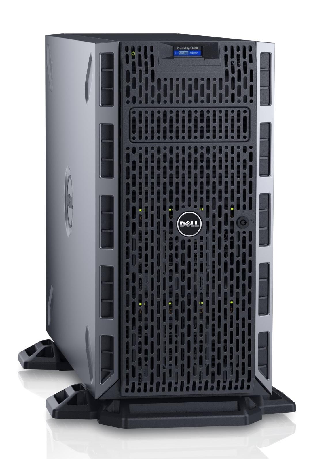 DELL PE T330/E3-1230v5/16GB/4x1TB NLSAS/DRW/2xGL/H730_1GB/iDRAC ENT/2x495W
