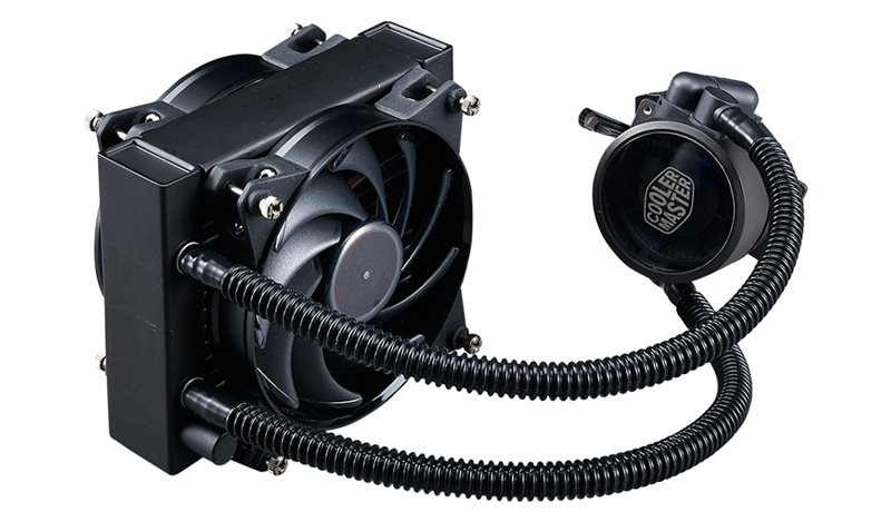 Cooler Master vodní chladič CPU MasterLiquid Pro 120, univ. socket, 120mm PWM fan