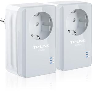 TP-Link TL-PA4010P Starter Kit sada 2x Powerline Adp, integr.el.zásuvka, AV500/2