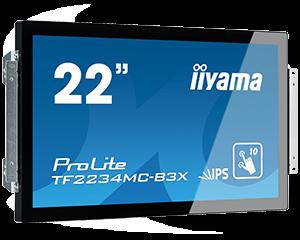"22"" LCD iiyama TF2234MC-B3X - open frame"