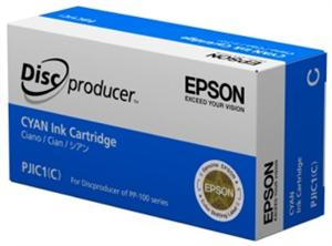 EPSON Ink Cartridge for Discproducer, Cyan