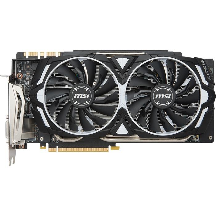 MSI VGA nVidia GeForce GTX 1080 Ti ARMOR 11G OC