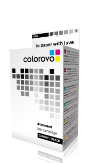 Inkoust COLOROVO 27-BK | Black | 20 ml | HP 27 (C8727AE) renovace