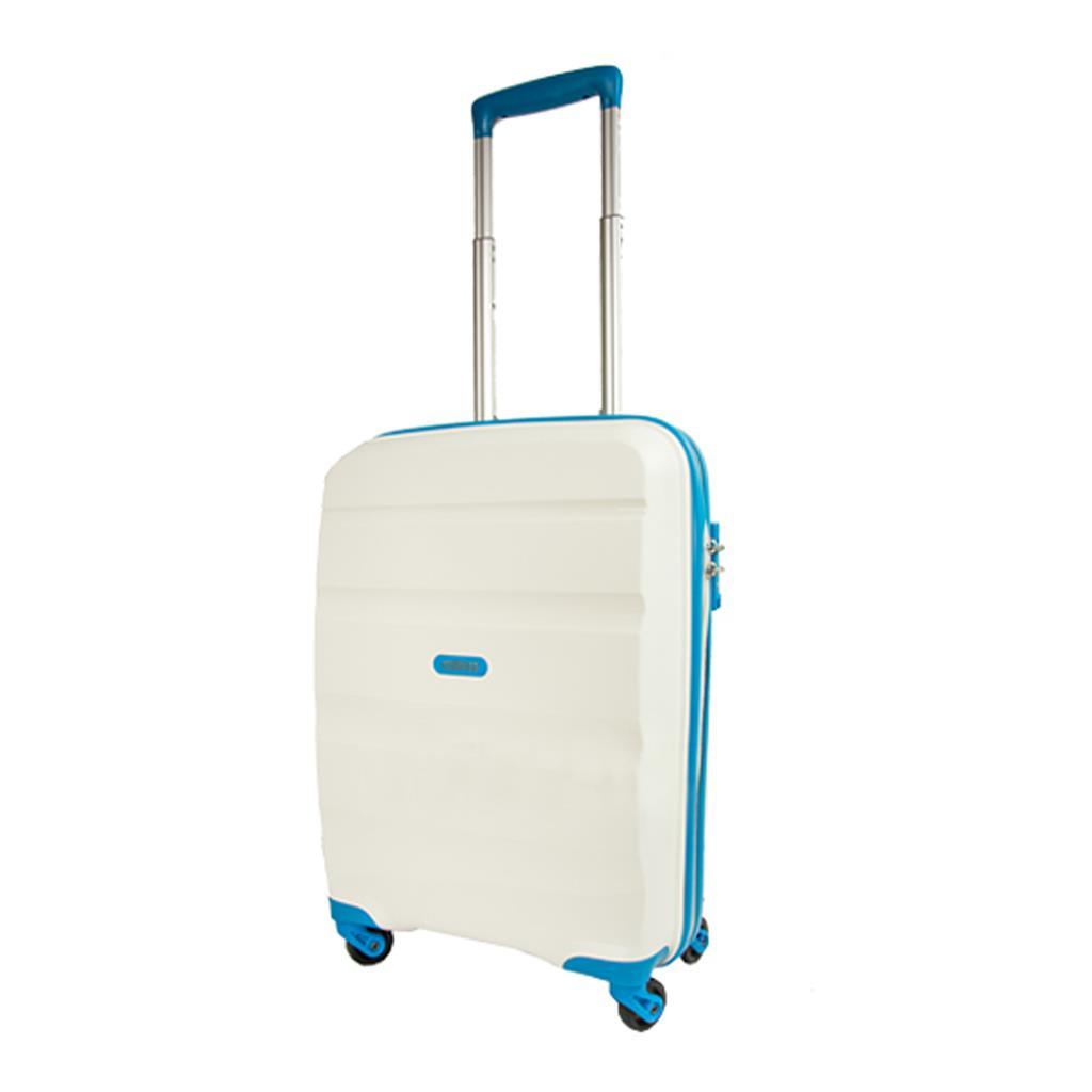 Cabin spinner AT SAMSONITE 85A15001 BonAir Strict S 55 4wheels luggage, black