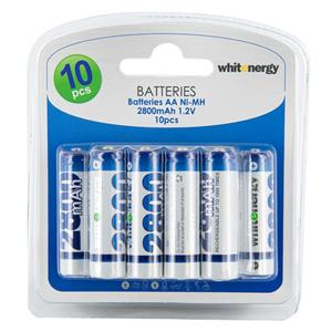 Whitenergy nabíjecí baterie AA/R6 2800mAh 10ks. - blister