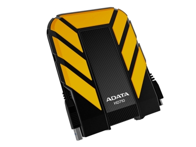 ADATA HD710 DashDrive™ Durable 1TB ext. HDD, USB3.0, water/shock proof, žlutý