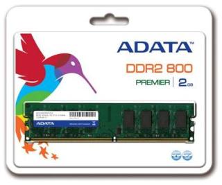 ADATA 2GB 800MHz DDR2 CL5 DIMM 1.8V
