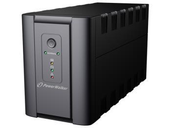 Power Walker UPS Line-Interactive 1200VA 2x SCHUKO, 2x IEC C13, RJ11/RJ45, USB