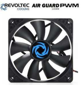 Revoltec ventilátor ''AirGuard PWM'', 120x120x25mm
