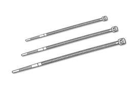 Digitus vázací svorka na kabely délka 120/šířka 2,6mm 100 ks