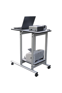 2x3 UNIVERSAL stolek pod projektor a notebook - pojízdný