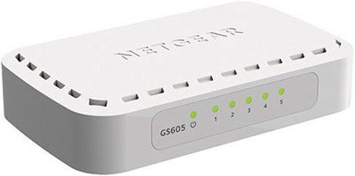 NETGEAR 5xGIGABIT Desktop switch, GS605