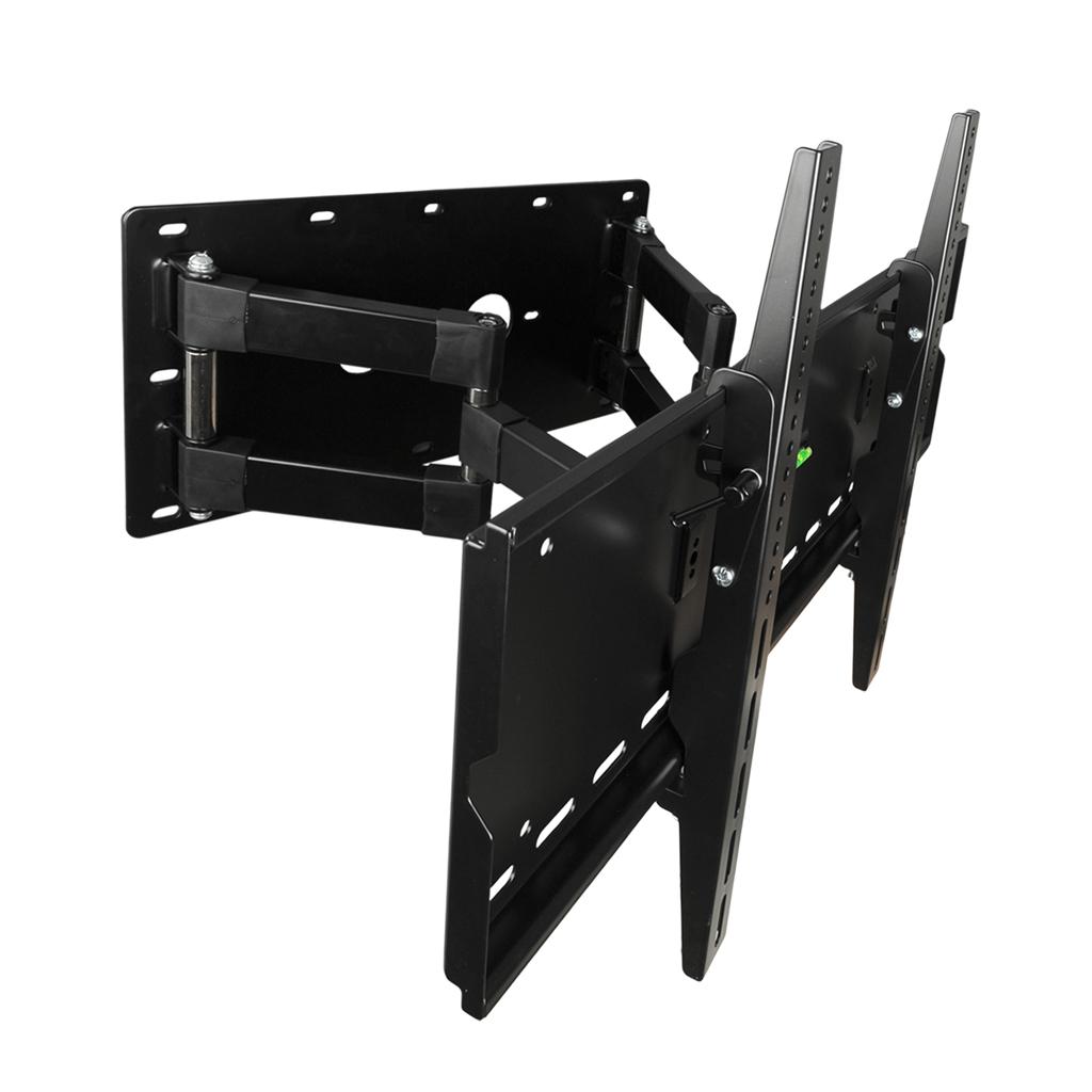 """4W Držák LCD 30-79"""" dvouramenný otočný sklopný BLK"""