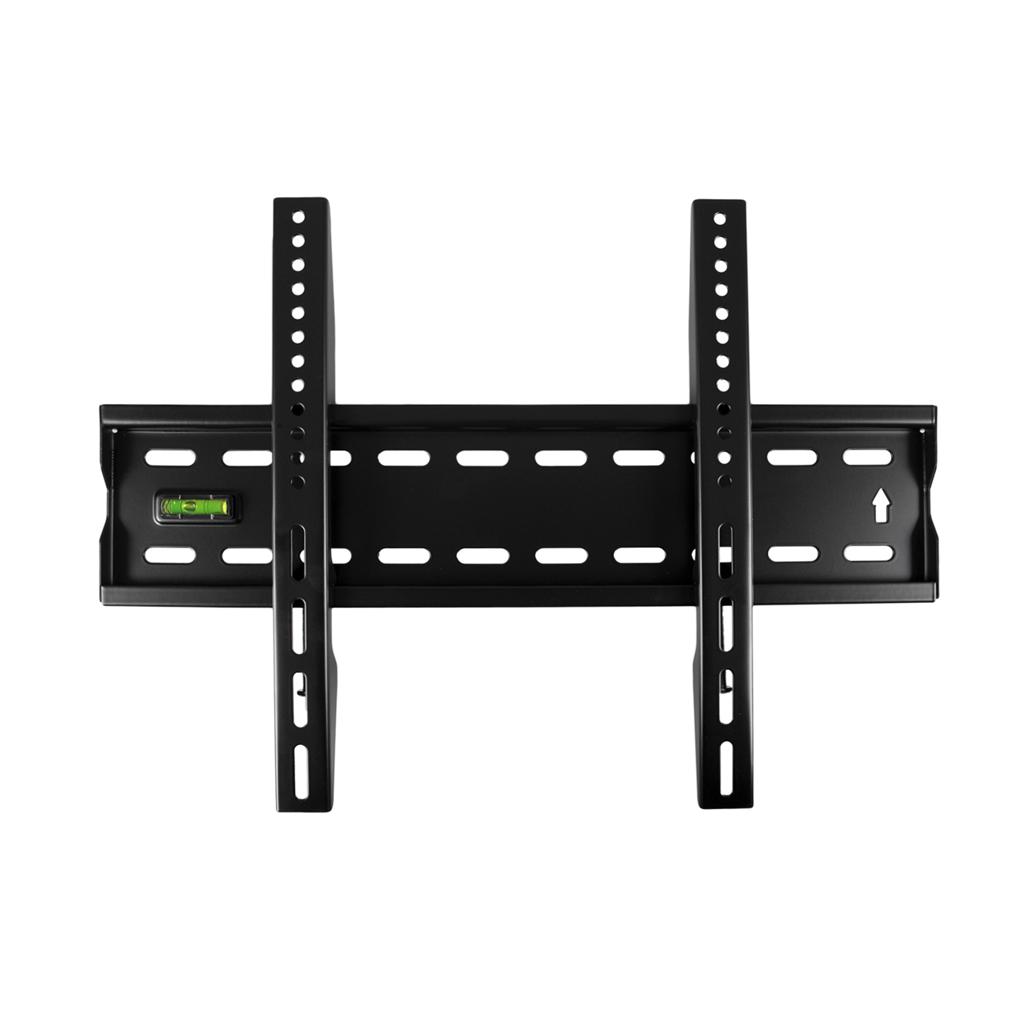 4World Fixní držák pro LCD 17''- 43'', SLIM, nosnost max. 40kg BLK