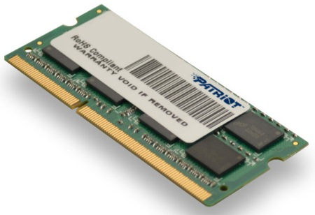 SO-DIMM 2GB DDR3-1333MHz PATRIOT CL9 SR