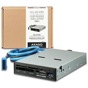 """AXAGON interní 3.5"""" 5-slot čtečka + USB 3.0 port"""