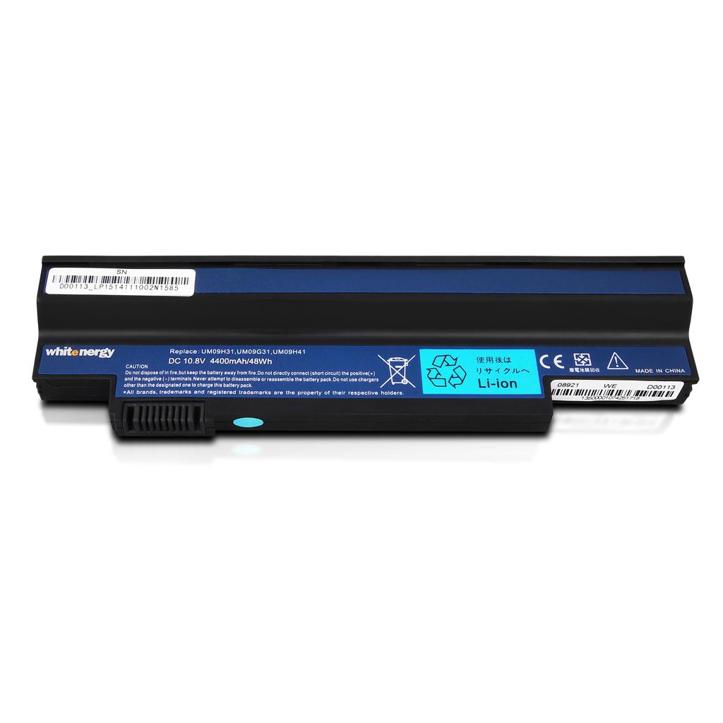 WE baterie Acer AspireOne 532h 10.8V 4400mAh černá