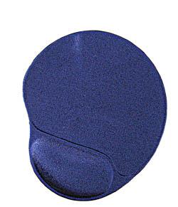 Podložka pod myš GEMBIRD - gelová, ergo - modrá