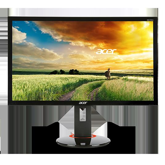 """Acer LCD XB240Hbmjdpr Gaming 61cm (24"""") 3D Vision, 1920 x 1080, 100M:1, 1ms, DVI, HDMI(MHL), DP, repro"""