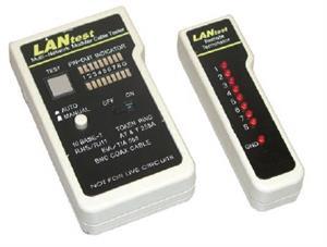 Měřící přístroj na BNC, RJ45, RJ12, RJ11