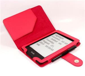 C-TECH PROTECT pouzdro pro Kindle PAPERWHITE s funkcí WAKE/SLEEP, červené