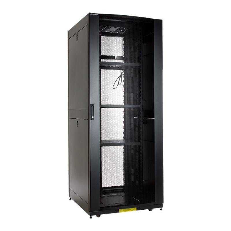 Linkbasic stojící skříně 19'' 42U 800x900mm (perforované dveře) až do 1000 kg