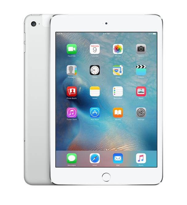 iPad mini 4 Wi-Fi+Cell 128GB Silver