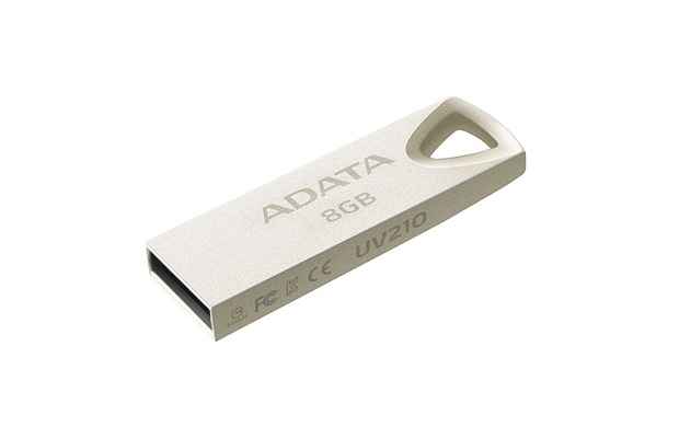 8GB ADATA UV210 USB Flash 2.0 kovová