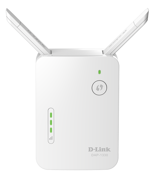 D-Link Wireless Range Extender N300 With 10/100 port and external antenna