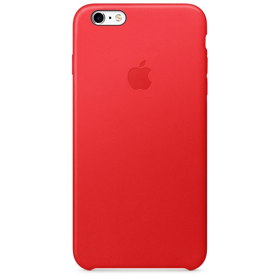 iPhone 6S Plus Leather Case (PRODUCT) RED