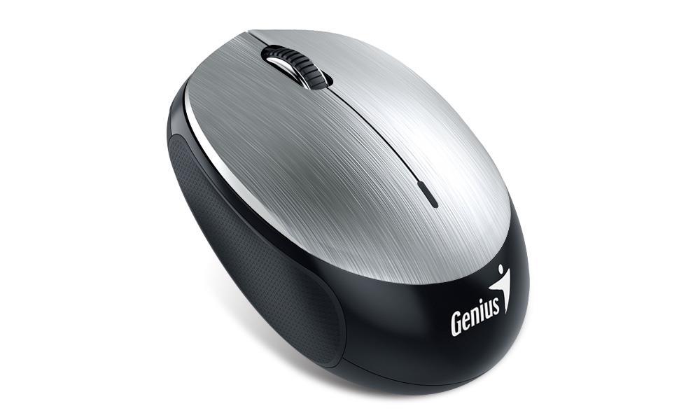 Genius Bluetooth 4.0 myš NX-9000BT, 320mAh Li-pol baterie, Iron Gray
