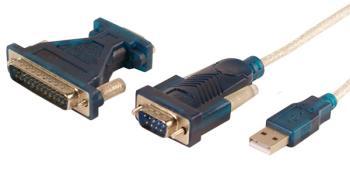 LOGILINK - Adaptér USB 2.0 - serial 9+25 pin, WINDOWS 8