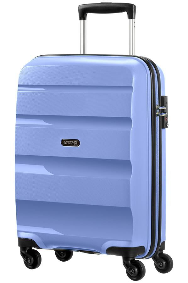 Cabin spinner AT SAMSONITE 85A02001 BonAir Strict S 55 4wheels luggage, porc.blu