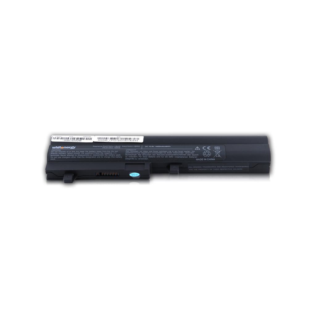 WE baterie Toshiba PA3732U 10.8V 4400mAh černá