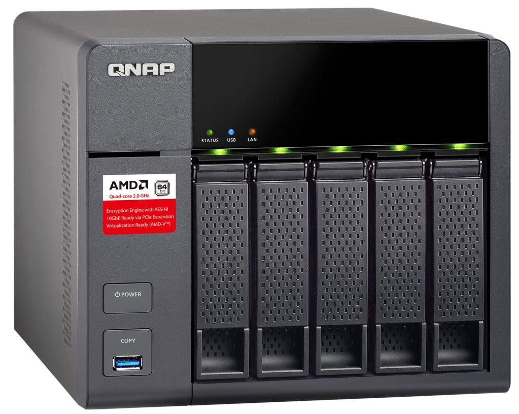 QNAP TS-563-2G (2,0G/2GB RAM/5xSATA)