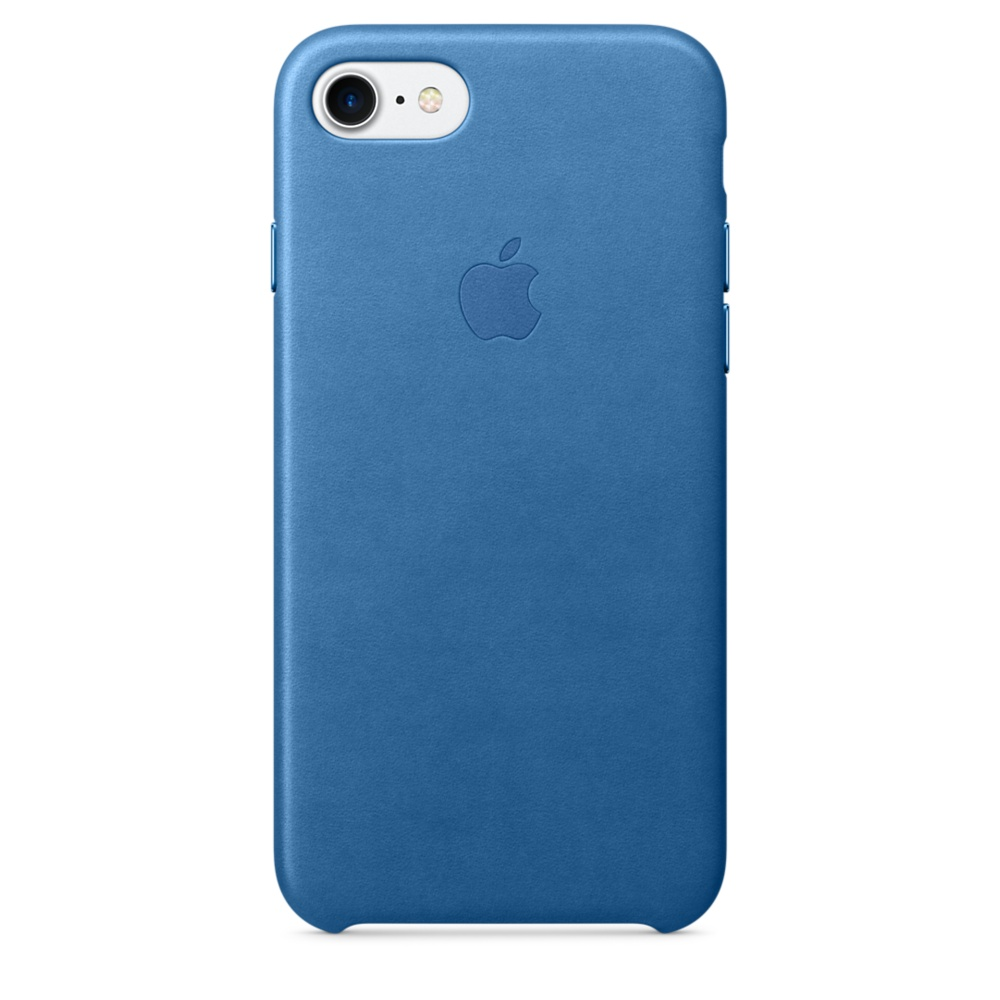 iPhone 7 Leather Case - Sea Blue