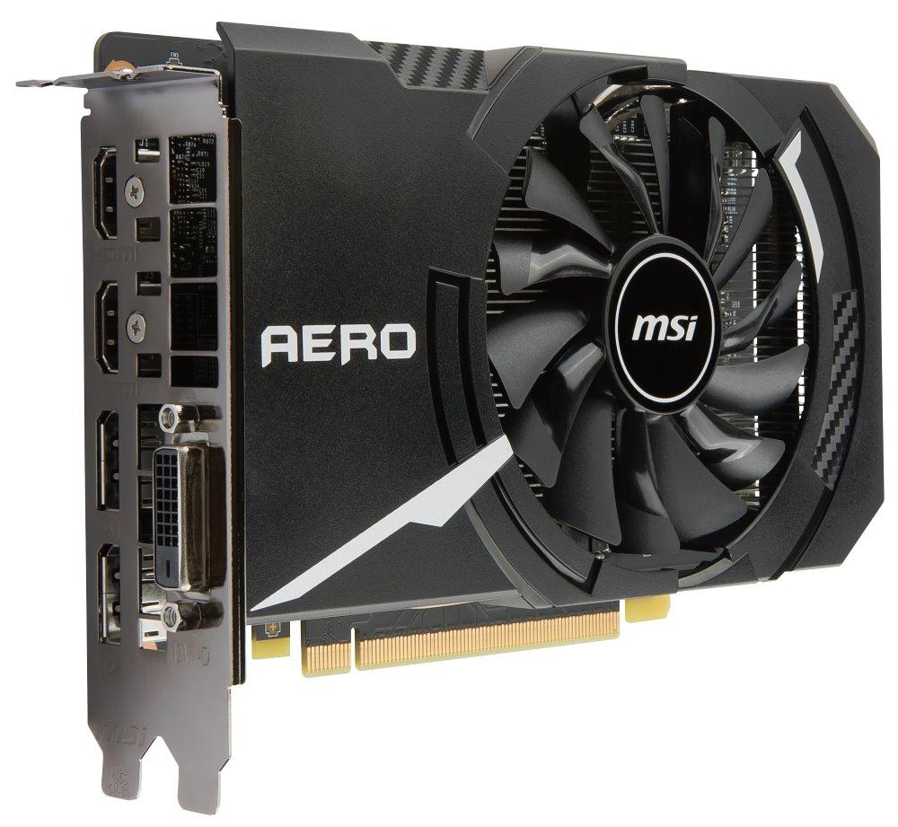 MSI GTX 1060 AERO ITX 3G OC, 3GB GDDR5, PCIe x16 3.0, 192bit, DVI-D, 2xHDMI, 2xDP