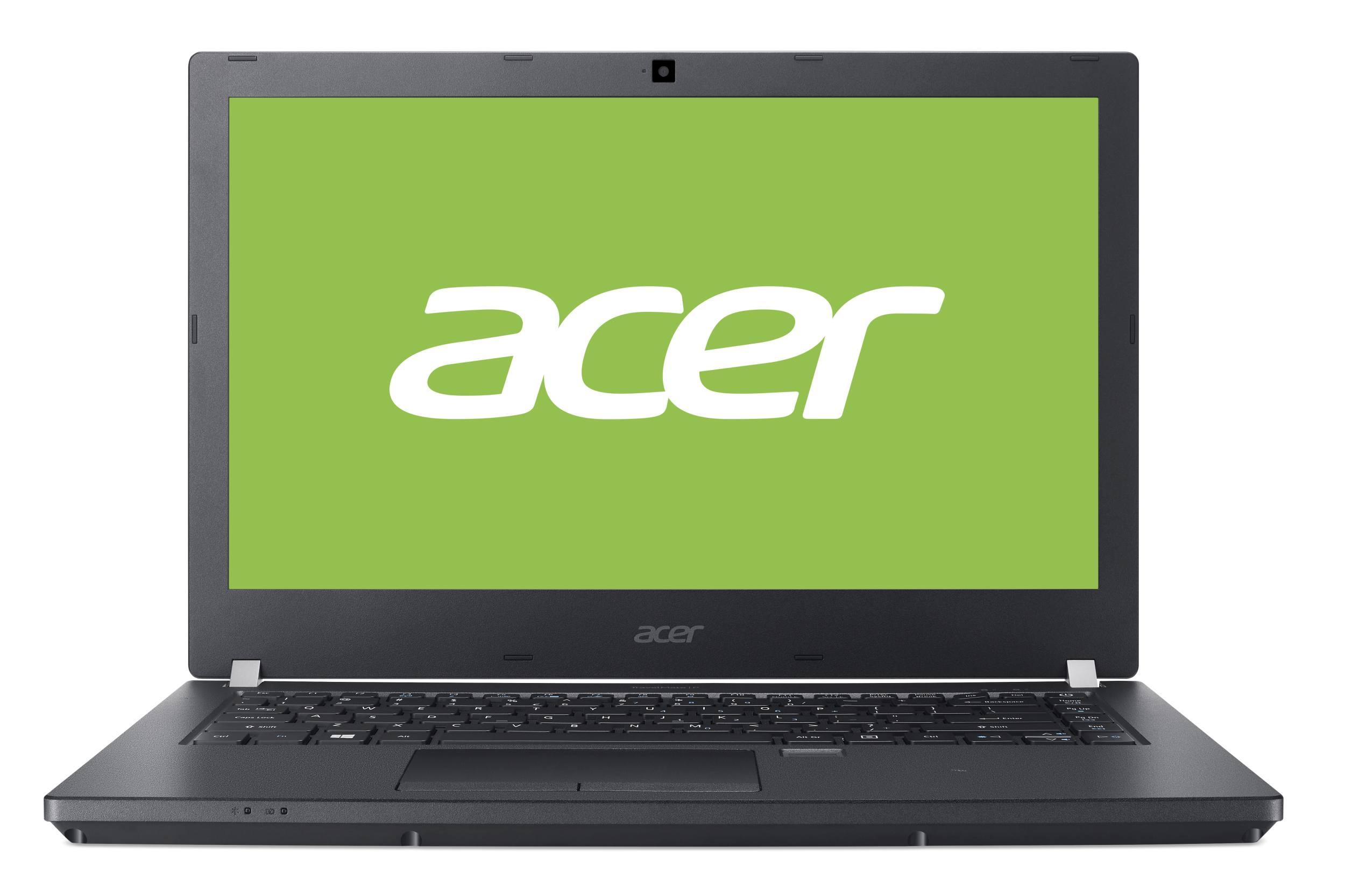 "Acer TravelMate TMP449-G2-M-37DD i3-7100U/4GB+N/256GB PCIe SSD+N/HD Graphics/14"" FHD matný IPS LED/W10 Pro/Black"
