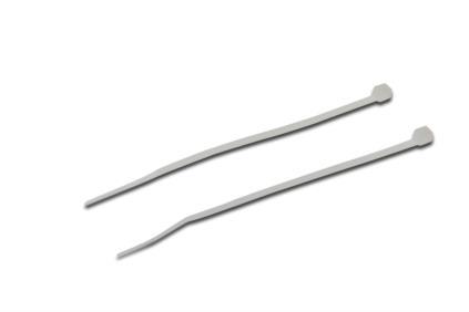 Digitus Stahovací pásek, vnitřní zuby, Nylon PA 66, 120 mm x 2,5 mm x 1,5 mm, 100 ks / sáček, UL, transparentní