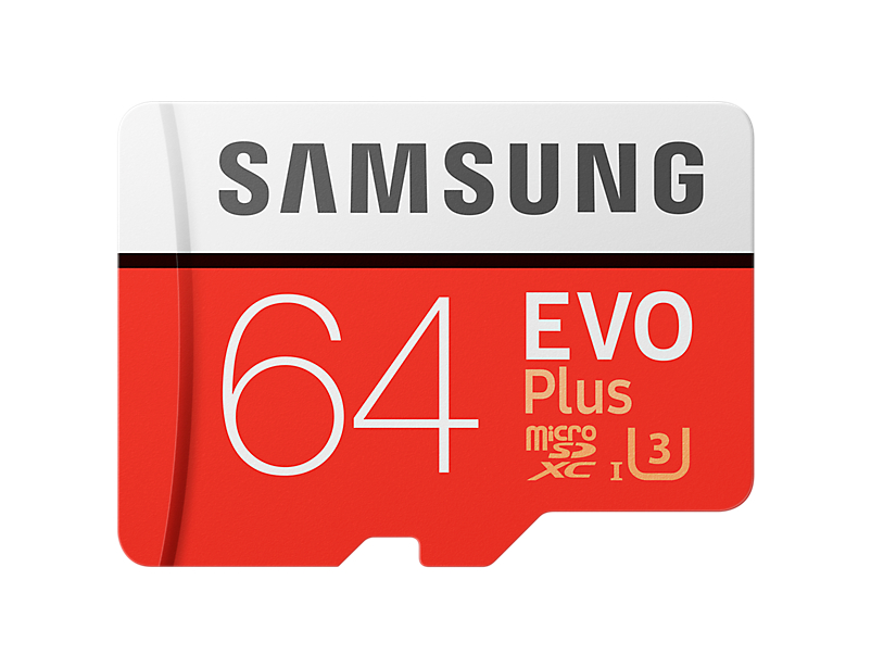 Samsung Micro SDXC karta 64GB EVO Plus + SD adaptér