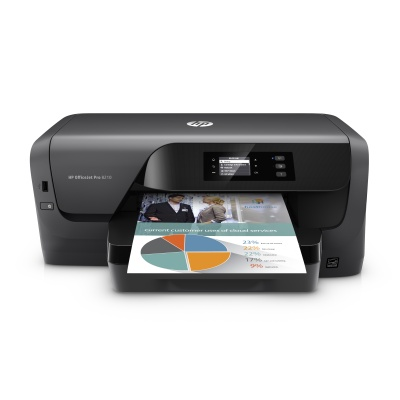 HP Officejet Pro 8210 (A4, 22/18 ppm, USB 2.0, Ethernet, Wi-Fi)