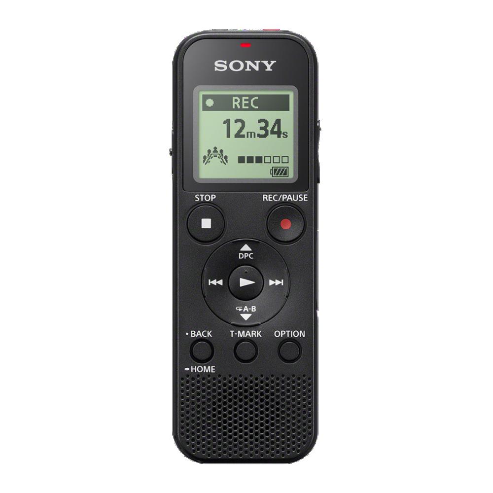 SONY digitální záznamník ICD-PX370 - digitální diktafon s rozhraním USB, baterií s životností až 57 hodin, 4 GB, MP3