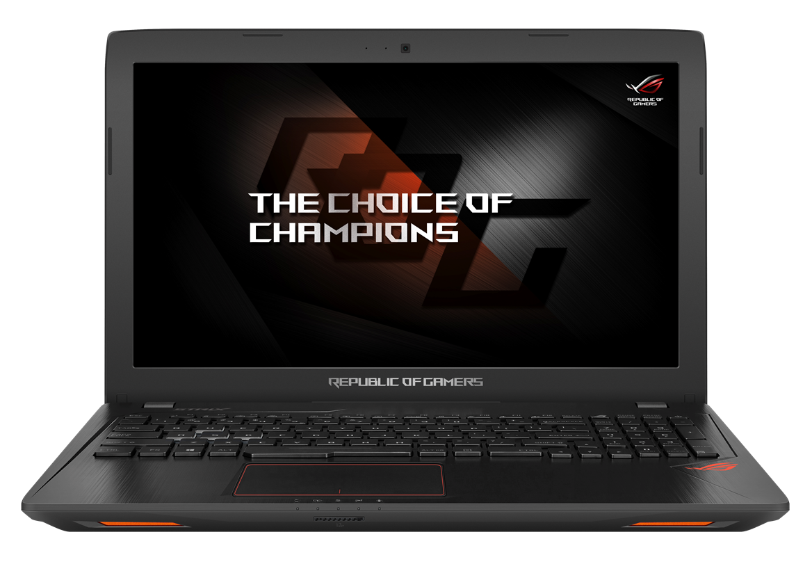 """ASUS GL553VE-FY029T i7-7700HQ/8GB+8GB/128 GB SSD M.2+1TB 7200 ot./DVDRW/GTX 1050 Ti/15.6"""" FHD LED matný/W10 Home/Black"""