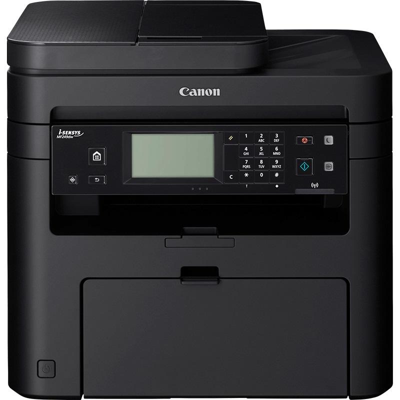 Canon i-SENSYS MF249dw - PCSF/SEND/LAN/WiFi/WiFi Direct/Duplex/DADF/PCL/27ppm/USB