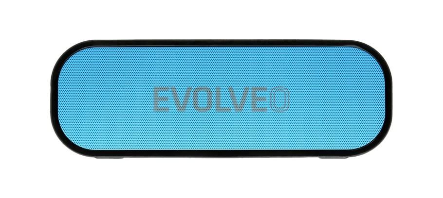 EVOLVEO Armor GT8, outdoorový Bluetooth reproduktor, 20W, 4400mAh,MP3 přehrávač, FM, microSDHC,HF,BT4.2EDR,modrý