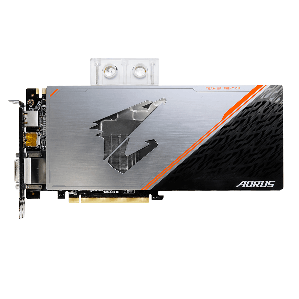 GIGABYTE VGA NVIDIA GTX 1080 Ti 11GB GDDR5X AORUS Waterforce Xtreme Edition (no fan)