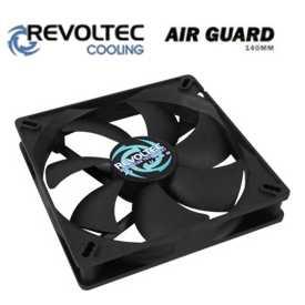 Revoltec ventilátor ''AirGuard'', 140x140x25mm