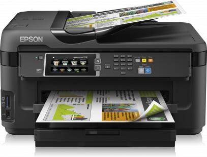 EPSON WorkForce WF-7610DWF - A3+/32-20ppm/4ink/USB/LAN/Duplex/ADF/Fax