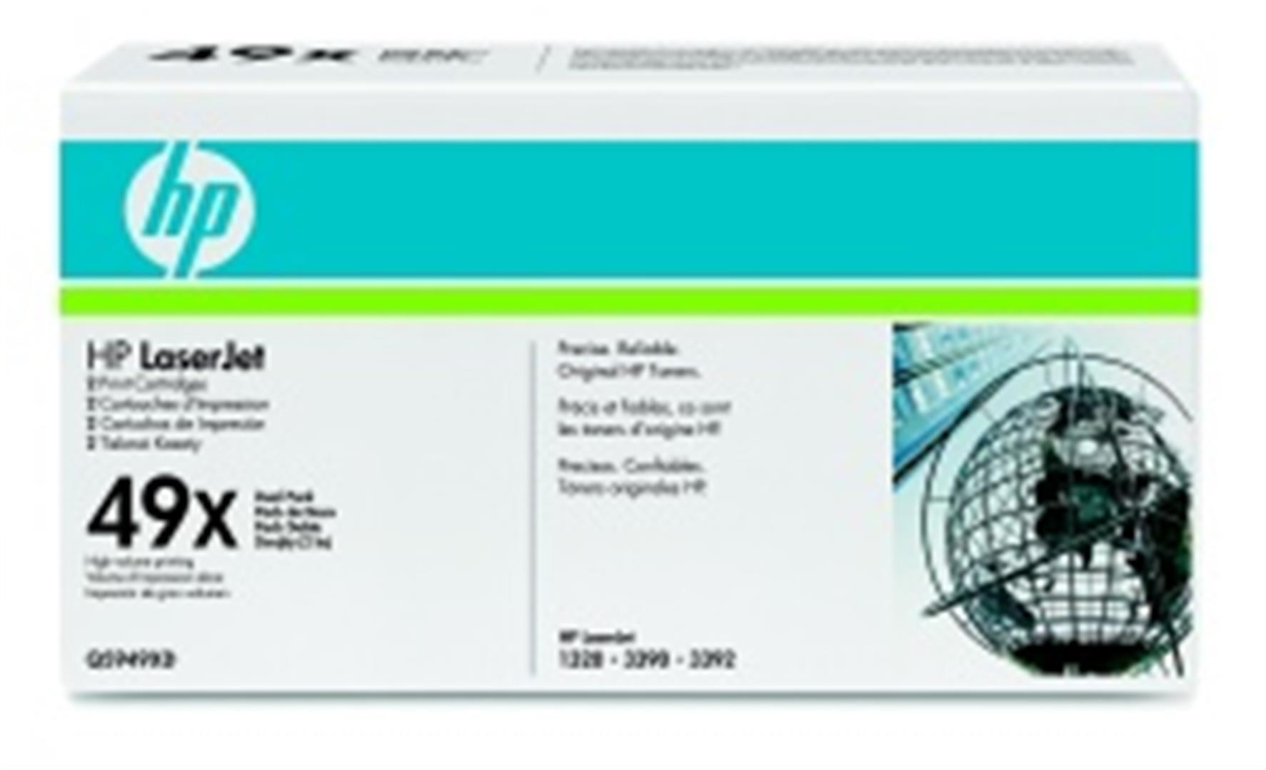 HP Q5949XD Toner 49X pro LJ 1320, (2x6000str) Black